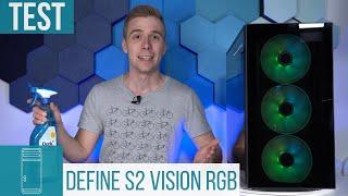 Fractal Design Define S2 Vision RGB Test: Hartglas-Gehäuse mit RGB-Beleuchtung!