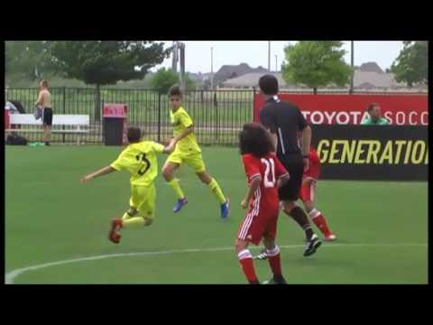 GA Cup 2017 U12 Highlights: FC Dallas Academy vs. Villarreal