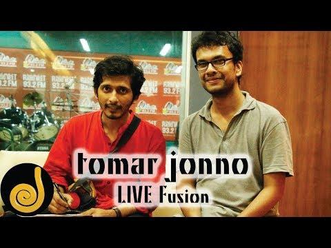 Tomar Jonno | Arnob and Prithwi Raj | LIVE Fusion | Radio Next 93.2 FM