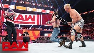 Jeff Jarrett vs. Elias: Raw, Feb. 4, 2019