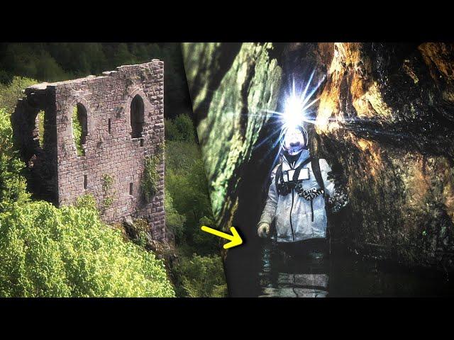 Des galeries OUBLIÉES sous un château ! | Sur le Terrain #3
