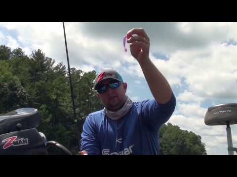How To Setup Drop Shot Rig For Lake Lanier Spotted Bass With Rob Jordan