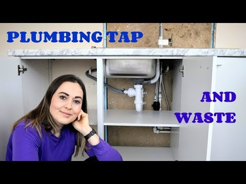 Plumbing Tap & Sink Waste: Kitchen Part 7 | The Carpenter's Daughter