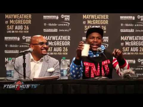 Thumbnail: HILARIOUS! FLOYD MAYWEATHER LAUGHS AT REPORTERS QUESTIONS THAT MAKES NO DAMN SENSE!
