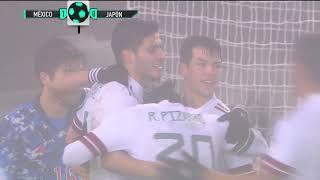 Japón 0 - 2 México | Amistoso | Azteca Deportes | Presentado por AT&T