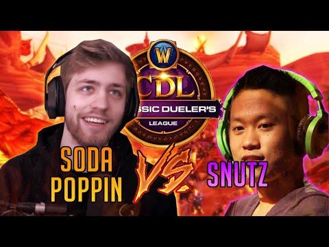 SODAPOPPIN vs. SNUTZ - CDL Semi-Finals (Druid vs. Warlock Duels WoW: Classic)