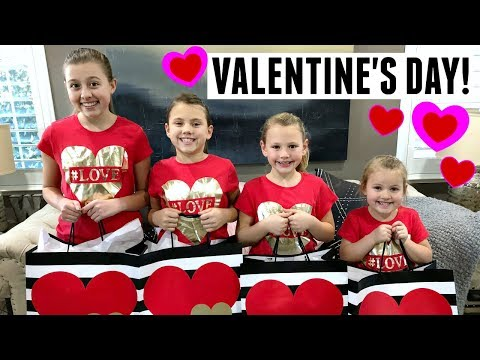 VALENTINE'S DAY MORNING SPECIAL OPENING PRESENTS AND A BIG SURPRISE REVEAL!