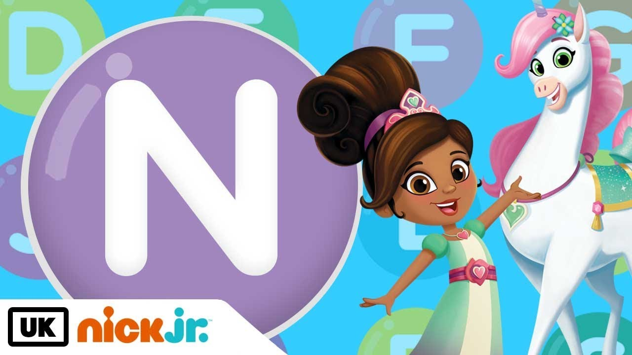Words Beginning With N Featuring Nella Nick Jr Uk