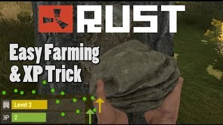 Easy Farming and XP Trick (PRO TIP) - RUST