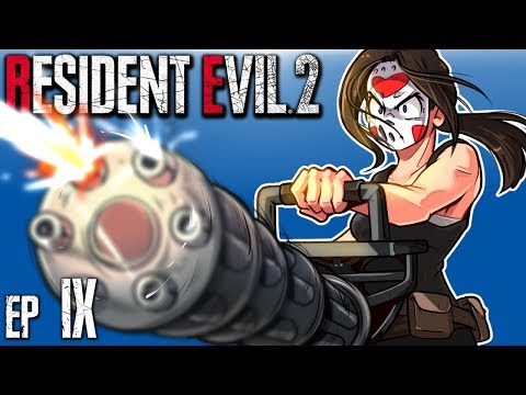 Resident Evil 2 - THIS ENDS NOW! FINAL FIGHT!!!! (Claire's B Run) Ep. 9