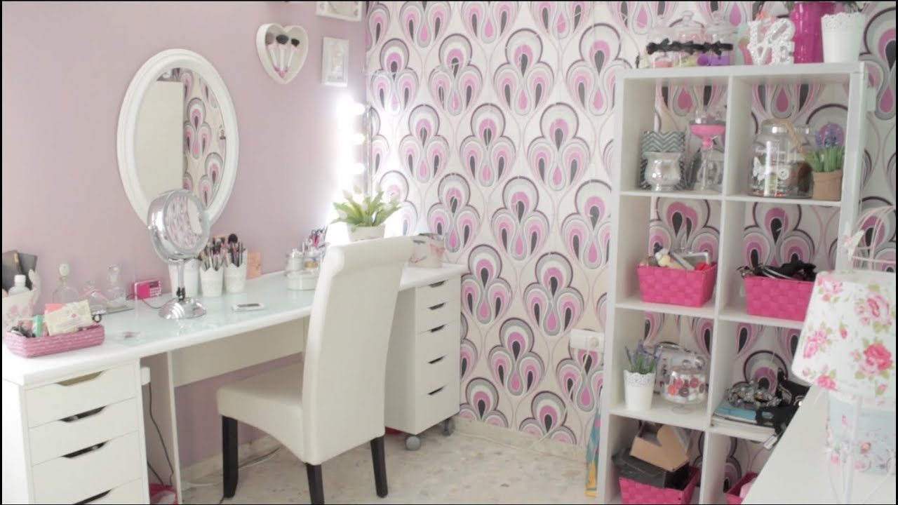Makeup Room tour Decoración - YouTube on Make Up Room  id=79254