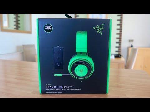 Razer Kraken Tournament Edition Green W/ THX Spatial Audio Unboxing & Overview!