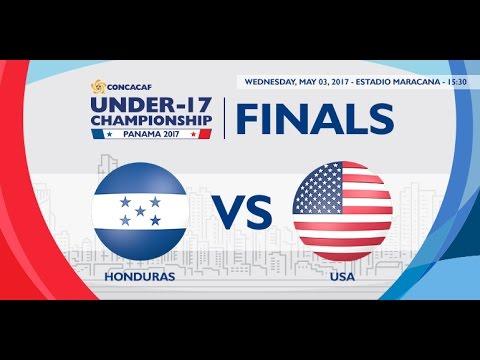 CU17PAN: Honduras vs United States