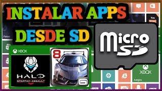 Cómo instalar aplicaciones desde SD en Windows Phone 8