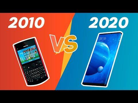 Смартфоны 2010 против смартфонов 2020. Что изменилось за 10 лет?