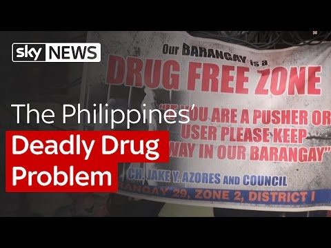 The Philippines' Deadly Drug Problem