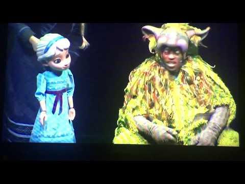 Frozen, A Musical Spectacular on the Disney Wonder