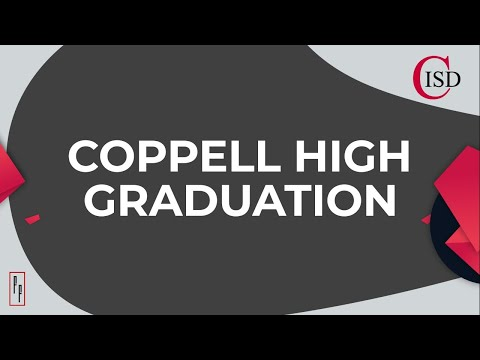 COPPELL HIGH SCHOOL 2020 In-Person Graduation.