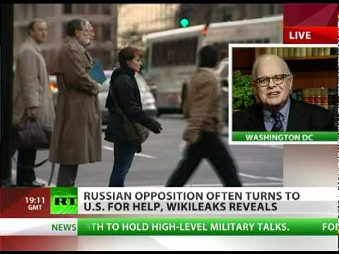 Webster Tarpley on Russian opposition, WikiLeaks & Revolutions
