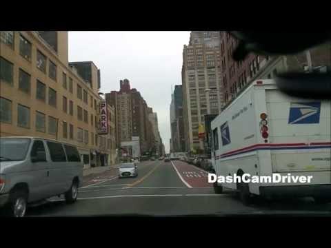Bronx to Manhattan via Henry Hudson parkway  - New York City