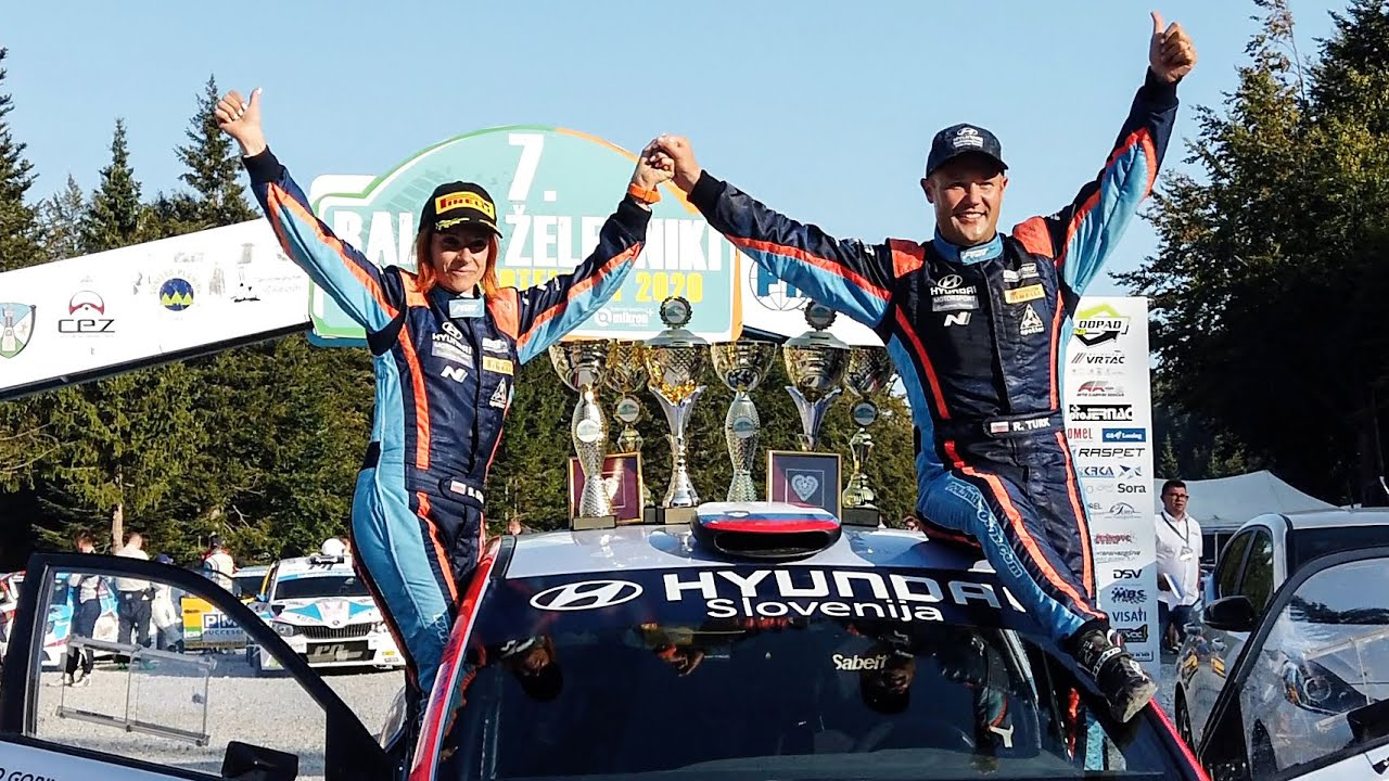 Turk-Kacin wins Slovenian Rally Championship with Hyundai Slovenija & Friulmotor - Season Review