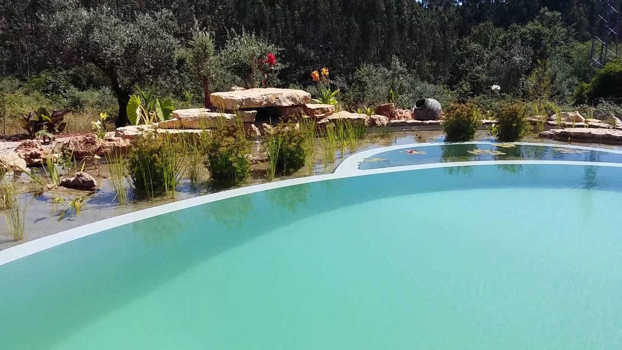 Natural Swimming Pool In Avelar Portugal Youtube