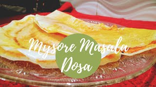 Mysore Masala Dosa Recipe  Seasoning Spices