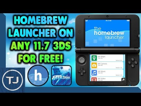 Install The Homebrew Launcher On Any 3DS 11.7 For FREE! (Steelminer)
