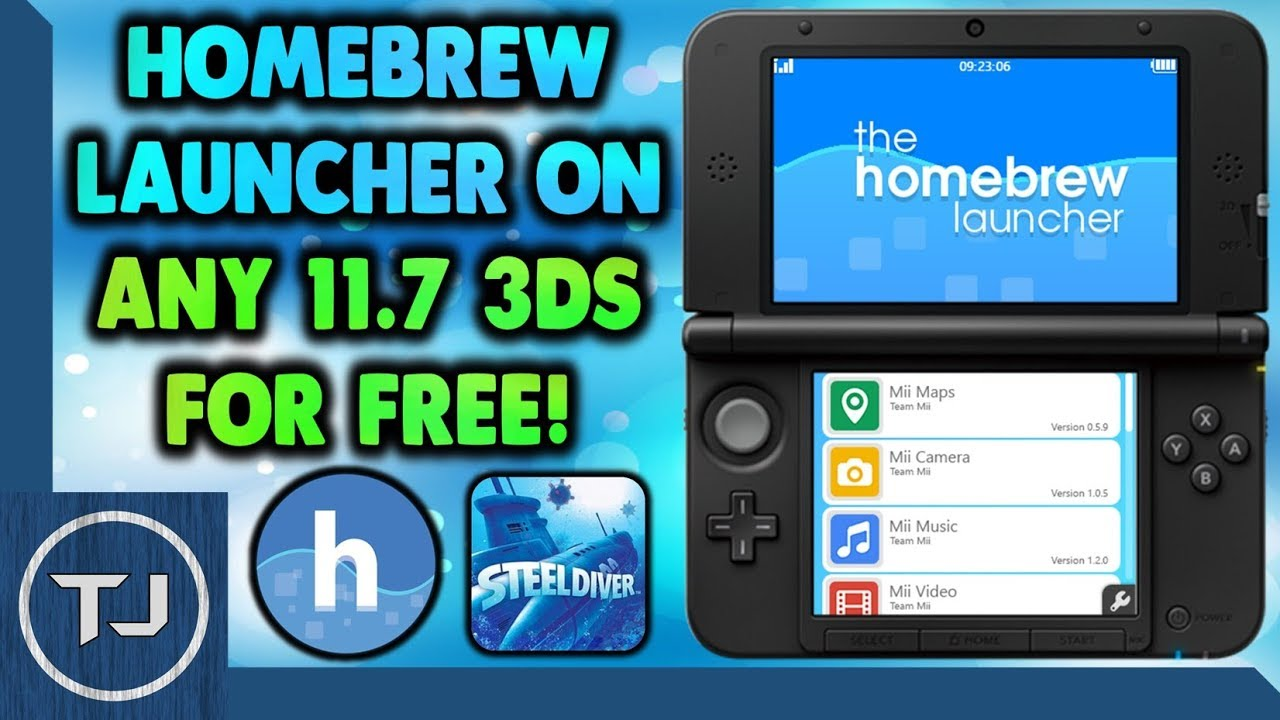 install homebrew 3ds 11.9