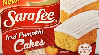 Sara Lee: Iced Pumpkin Cakes Review