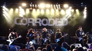 Corroded Live Sundsvall 2014-07-03 med gamla medlemmar