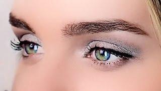 Уроки макияжа. Макияж для увеличения глаз. Как сделать макияж для глаз.