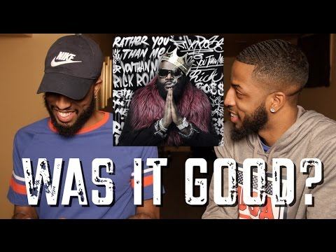 "RICK ROSS ""RATHER YOU THAN ME"" REVIEW AND REACTION #MALLORYBROS 4K"