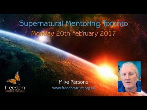Supernatural Mentoring Monday 20th February 2017 Toronto