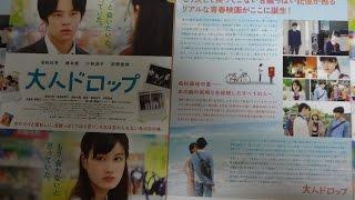 大人ドロップ 2014 映画チラシ 2014年4月4日公開 【映画鑑賞&グッズ探...