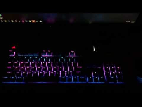 Corsair STRAFE RGB Audio Visualizer-Black Coast