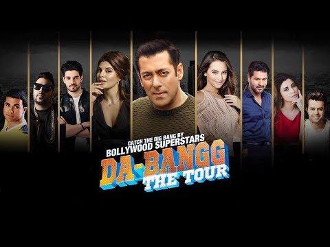 Salman's DA-BANGG TOUR In London - Sonakshi, Daisy, Sooraj, Prabhu Deva