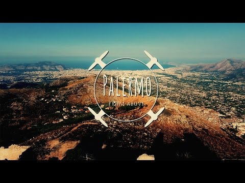 PALERMO (SICILY) FROM ABOVE - video in 4K