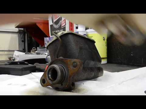 Converting A Master Cylinder To 4 Wheel Disc And Checking It`s Bore