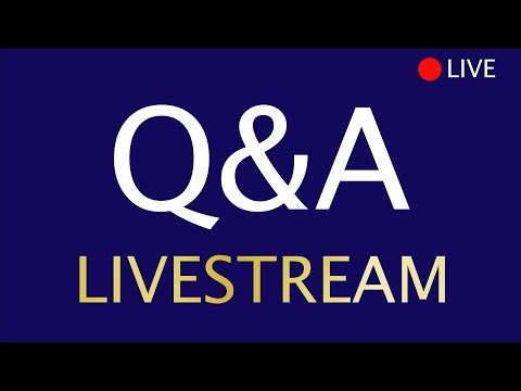 Chelsea QnA LIVESTREAM - Your CHANCE to have your questions answered by me!
