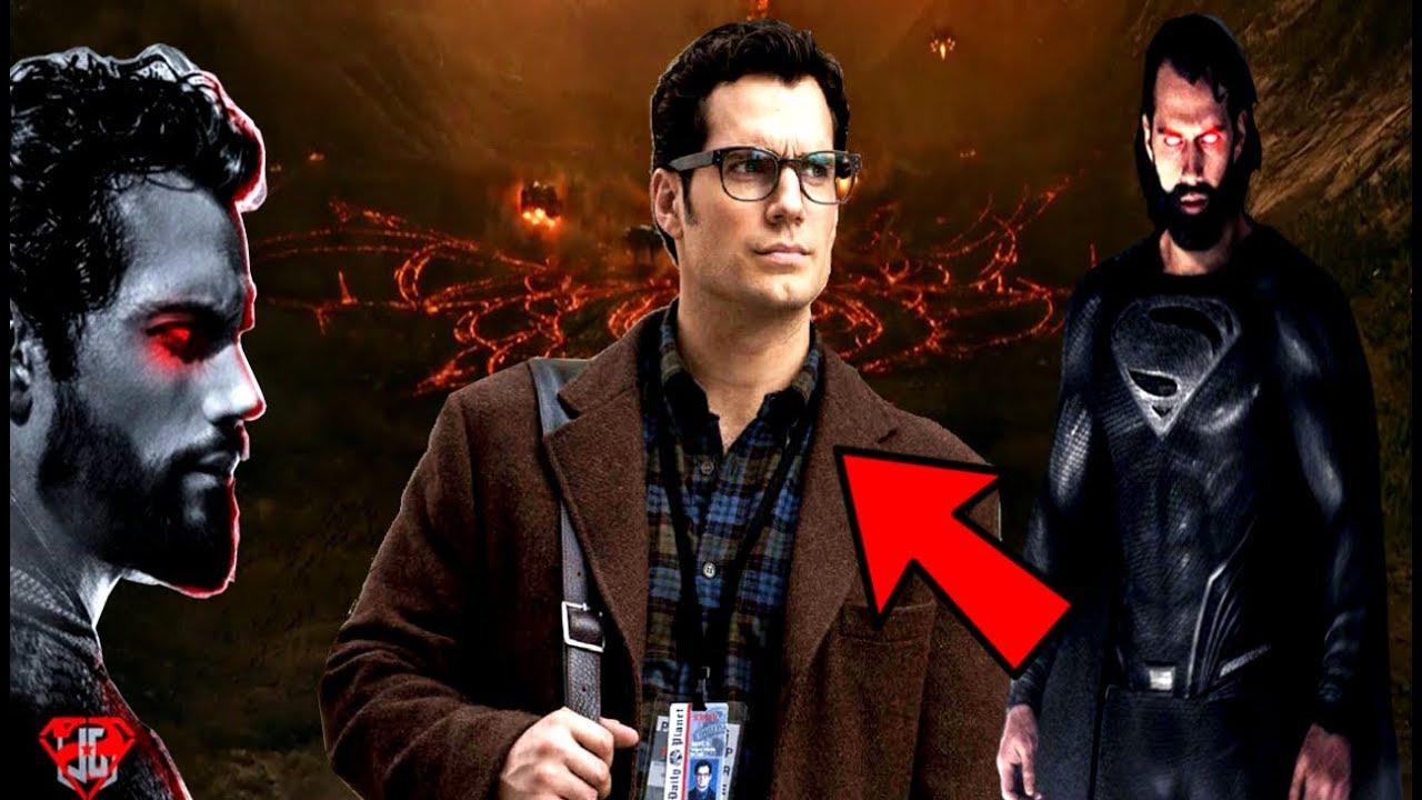Justice League NEWS Henry Cavil CONFIRMS Black Superman Suit ...