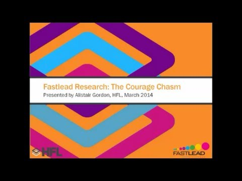 The Courage Chasm - Managing Up webinar