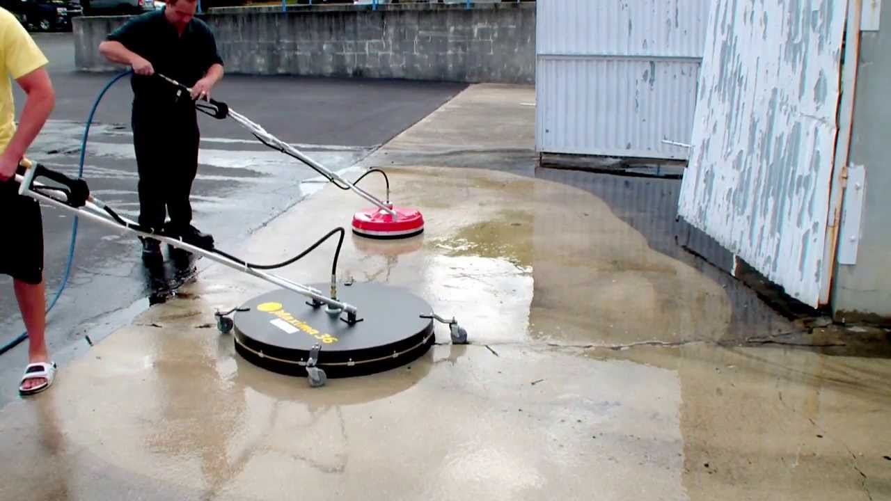Whisper wash maxima 36 sidewinder roof surface for Cement cleaning products