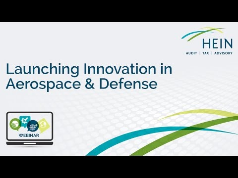 Launching Innovation in Aerospace & Defense Webinar