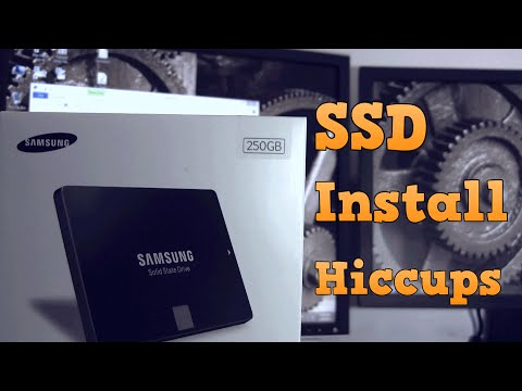 SSD swap/Install with my main drive (Part 1): with proverbs.