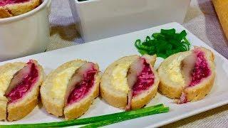 Непреодолимо вкусная фантазия. Закуска которая понравится всем!! Рецепты закусок.