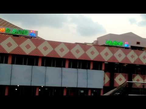 Skywalk ashoknagar metro station,chennai