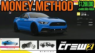 The Crew 2 How To Get Money Fast! (No Money Glitch)