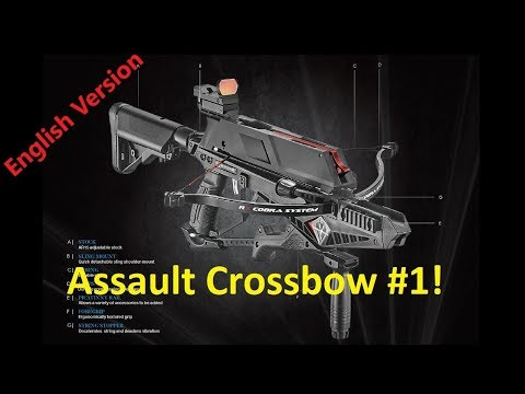 """The """"Cobra RX Adder"""" Tactical Repeating Crossbow! Available soon."""
