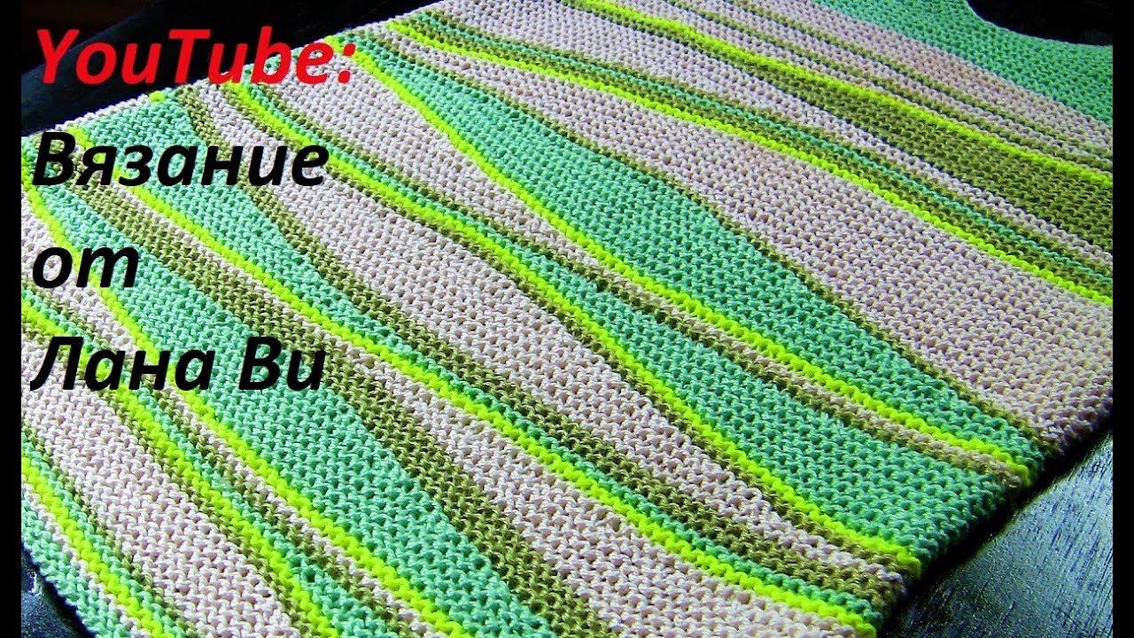 вязание спицами как вязать укороченные ряды 3 мк вязаный топ